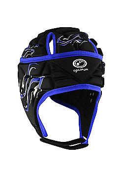 Optimum Inferno Headguard - Black & Blue