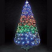 3ft Fantasia Green Fibre Optic Christmas Tree