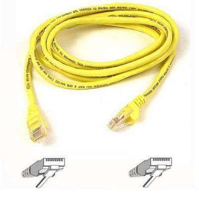 Belkin High Performance Category 6 UTP Patch Cable 1M(3.3 ft) Yellow