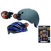 Nite Ize Inova Swipe To Shine Helmet Light Orange