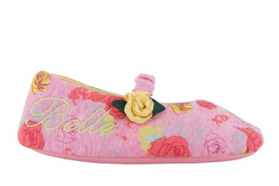 Girls Disney Princess Slippers Belle Beauty And The Beast Infant Size 13