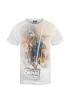 Star Wars Mens T-Shirt - Orange