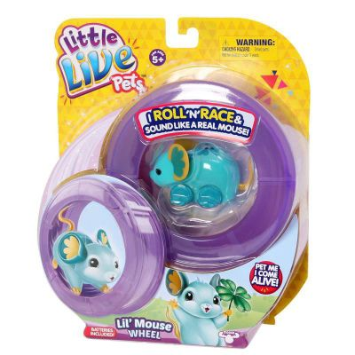 Little Live Pets Mice - Lil Mouse Wheel Pack - LUCKY LOULOU