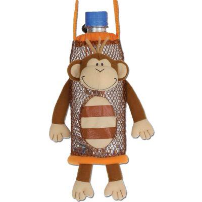 Children's Water Bottle Holder - Monkey