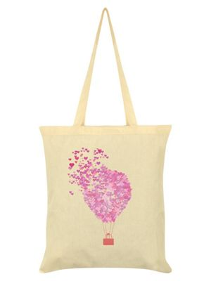 Love Is In The Air Cream Tote Bag 38 x 42cm