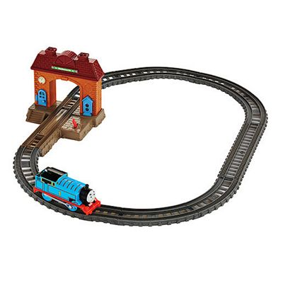 Thomas & Friends Trackmaster Wellsworth Station Starter Playset