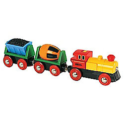 Brio Battery Operated Action Wooden Train
