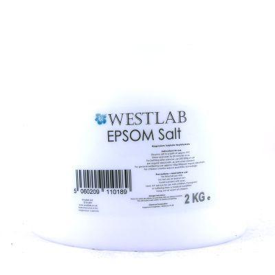 Westlab Epsom Salt 2kg in Plastic Tub