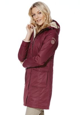 Regatta Roanstar Waterproof Padded Coat 12 Burgundy