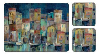 Pimpernel Evening Port Placemats & Coasters, Set of 6