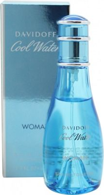Davidoff Cool Water Woman Eau de Toilette (EDT) 50ml Spray For Women