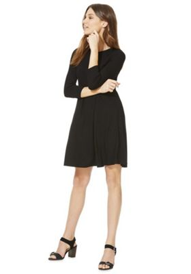 F&F Swing Dress Black 8