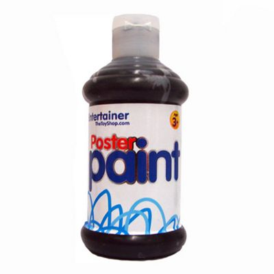 The Entertainer Poster Paint - Black