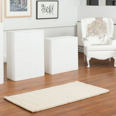 Marbles Natural White Rug - 200x300cm