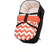 OBaby Zeal Carrycot (ZigZag Orange)