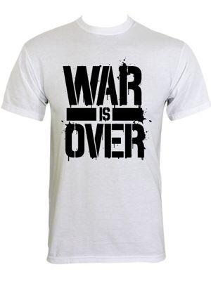 War Is Over White Men's T-shirt