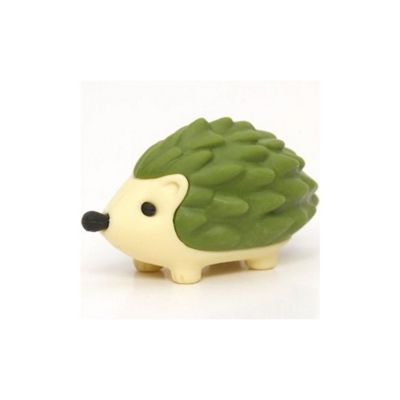 GREEN Prickles The Hedgehog - Puzzle Eraser - TY Beanies