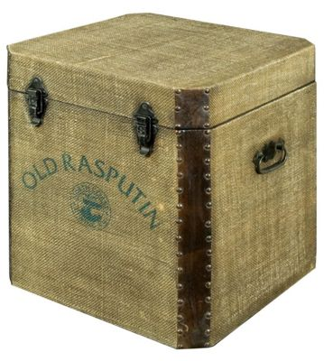 Old Rasputin Canvas Chest