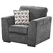 Boston Armchair, Dark Grey