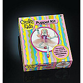Crafty Kids Puppet Kit - Make your own Ballerina Puppet 6yrs+