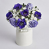 Mother's Day Blue Posy