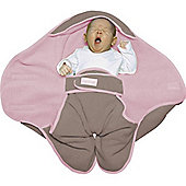 Red Castle Babynomade S1 Fleece Blanket Taupe/Pink