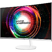 Samsung LC27H711QEUXEN 27-Inch WQHD 2560 x 1440 3 Side Bezel-Less Curved Monitor - Metallic Silver