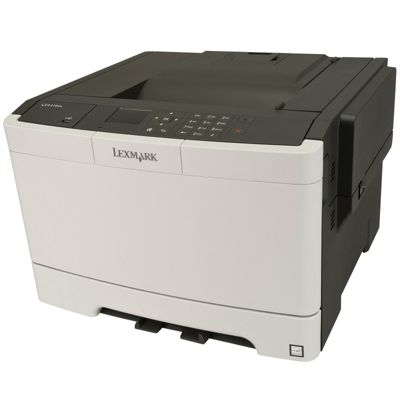 Lexmark CS410dn Colour Laser Printer 256MB (2.4 inch) Colour LCD Display 30ppm (Mono) 30ppm (Colour)