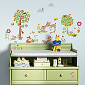 Kids Wall Stickers, Baby Wall Stickers - Enchanted Spring Forest