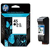 HP No.45 Low Volume Print Cartridge - Black