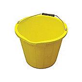 Faithfull 3 Gallon 14 litre Bucket - Yellow
