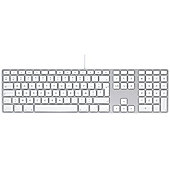 Apple MB110 Keyboard with numeric keypad - French