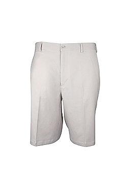 Woodworm Dryfit Flat Front Golf Shorts - Stone