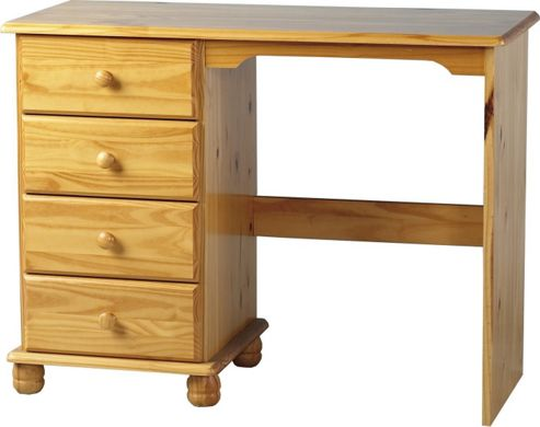 Home Essence Sol 4 Drawer Dressing Table
