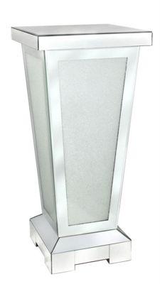 Stylish Diamond Crush Mirror Pillar - Modern & Elegant Home Decor