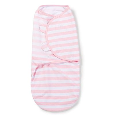 SwaddleMe Original Swaddle (Small, Pink and White Stripe)