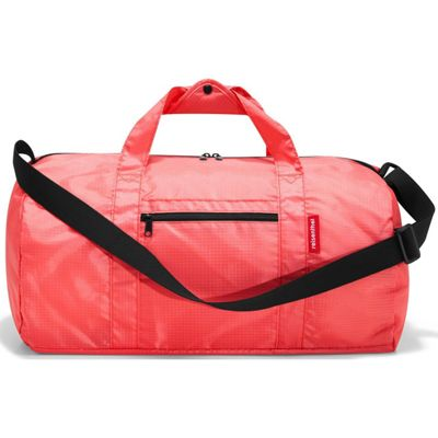Reisenthel Mini Maxi Foldup Duffle Bag in Coral Red AM3051