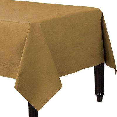 Gold Tablecover - 2ply Paper - 1.4m x 2.8m