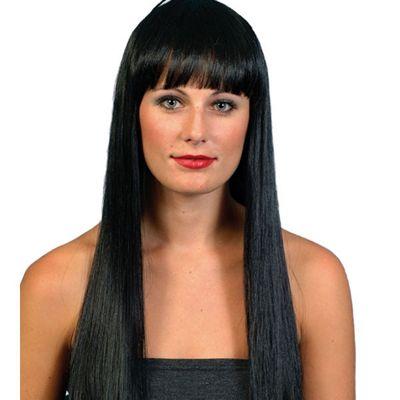 Smiffy's - Beauty Long Wig - Black