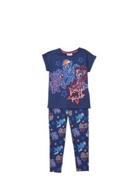 Hasbro My Little Pony Glow in the Dark Pyjamas Navy 4-5 years