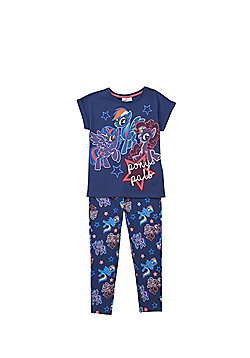 Hasbro My Little Pony Glow in the Dark Pyjamas - Navy