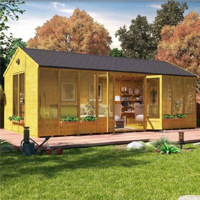 BillyOh Petra Tongue and Groove 20x10 T&G Reverse Apex Summerhouse