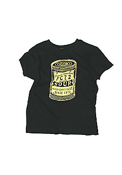 French Connection 'Soup' Print Tee Available In 4-5Y/5-6Y/6-7Y - Black