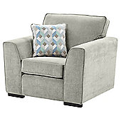 Boston Armchair, Light Grey