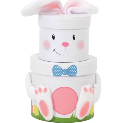 Easter Chick Two Tier Stacking Gift Box