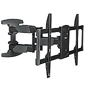 "VonHaus 37-70"" Double Arm Tilt & Swivel TV Wall Mount Bracket with Cable Management System"