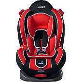 Caretero Sport Classic Car Seat (Light Red)