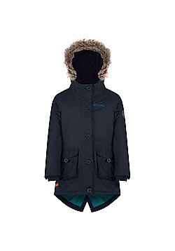 Regatta Totteridge Faux Fur Trim Parka - Navy