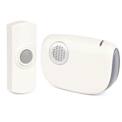 Lloytron B7010WH 150M Wireless Door Chime Kit - White