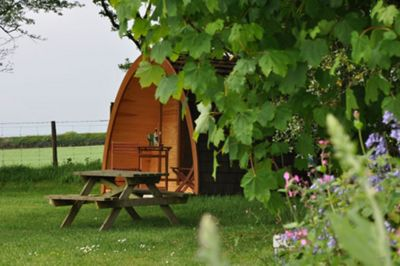 One Night Glamping Break for Two - Monday to Thursdays